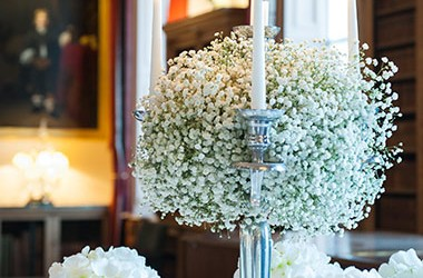 Classic White Wedding Lusso Styling