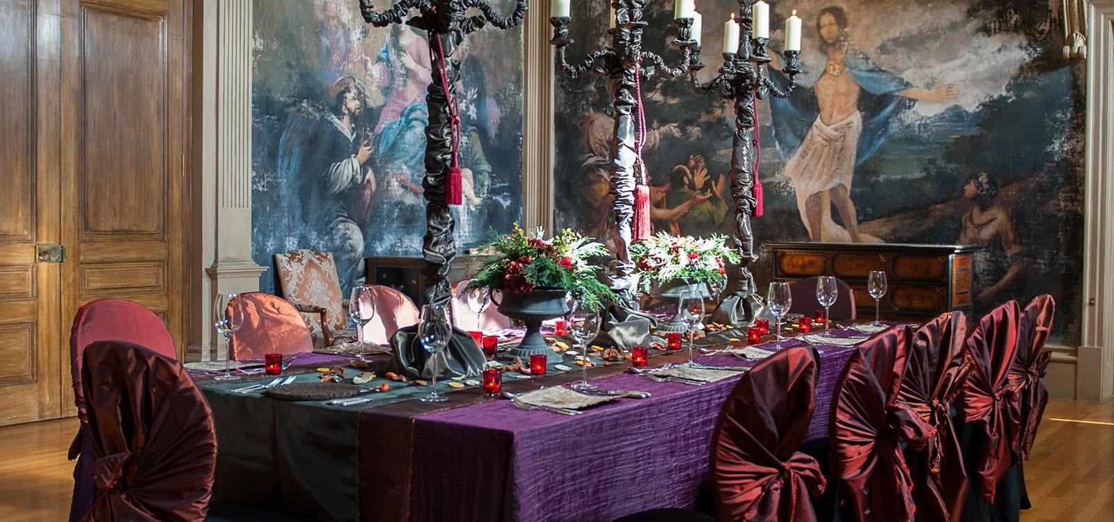 Autumn Banquet Wedding Lusso Styling