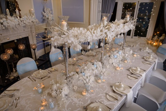 crystal table decorations for weddings white wedding lusso styling 3208