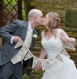 Gemma & Tom Leigh Bagden Hall - www.lussostyling